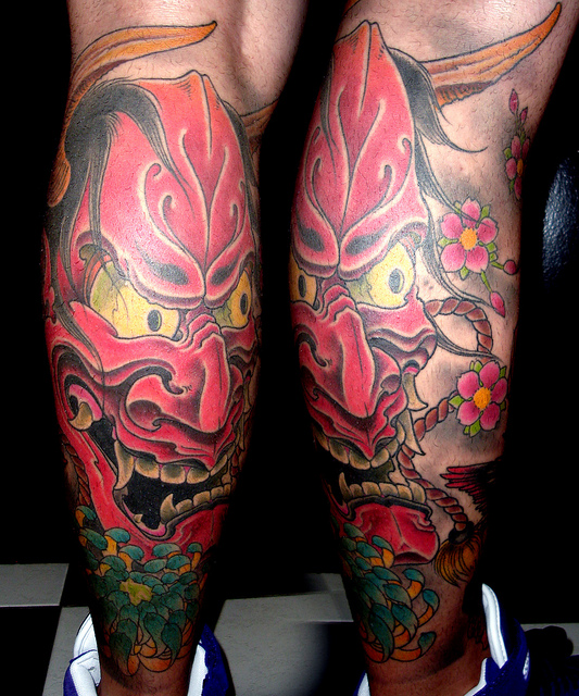 Hannya Mask Tattoo (45)