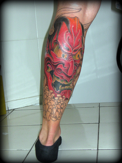 Hannya Mask Tattoo (44)