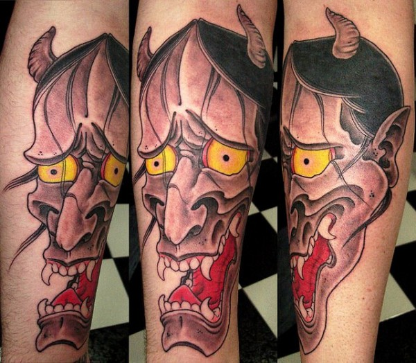 Hannya Mask Tattoo (43)