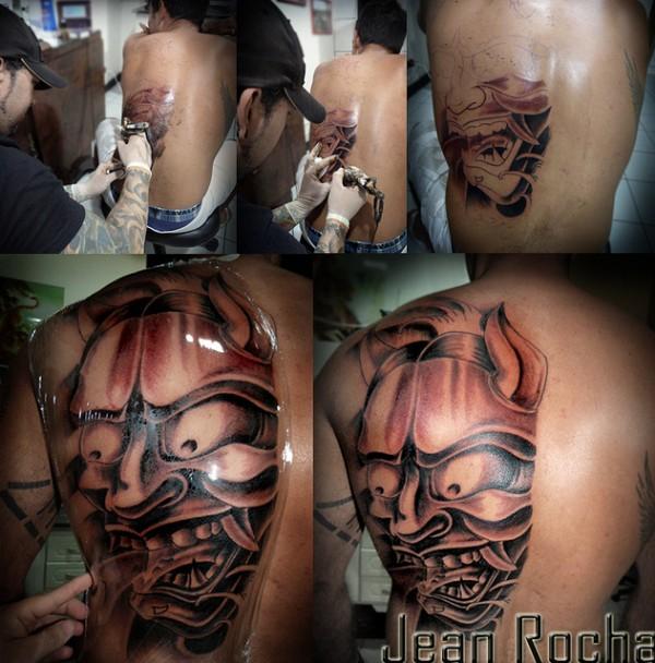 Hannya Mask Tattoo (42)