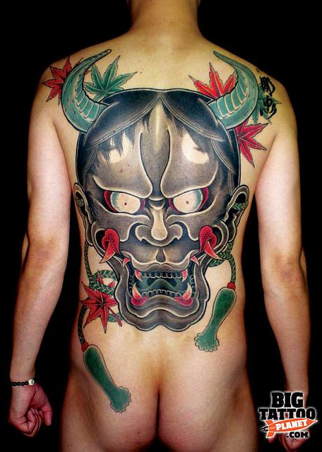 Hannya Mask Tattoo (40)