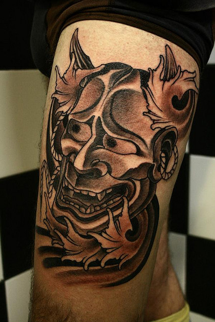 Hannya Mask Tattoo (39)