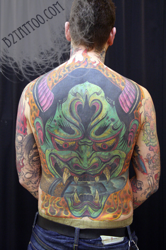 Hannya Mask Tattoo (37)