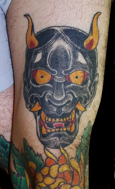Hannya Mask Tattoo (36)
