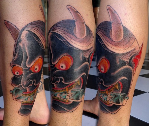 Hannya Mask Tattoo (32)