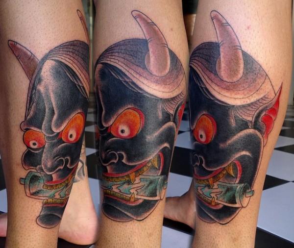 Hannya Mask Tattoo (32)