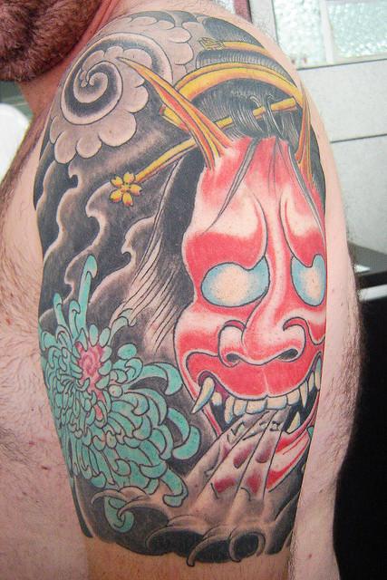 Hannya Mask Tattoo (31)