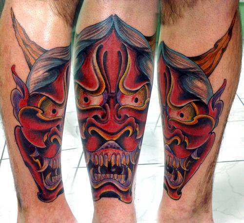 Hannya Mask Tattoo (30)