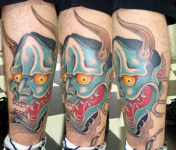 Hannya Mask Tattoo (29)