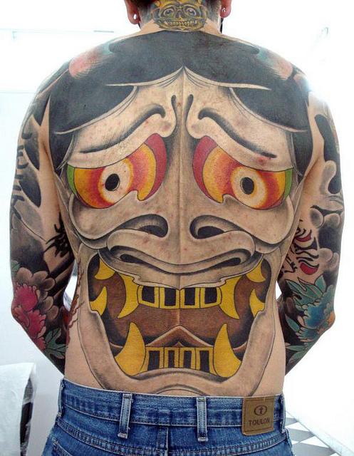 Hannya Mask Tattoo (28)