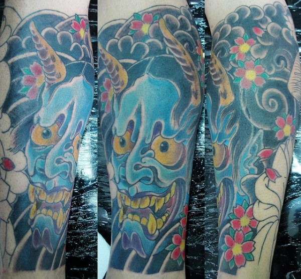 Hannya Mask Tattoo (26)