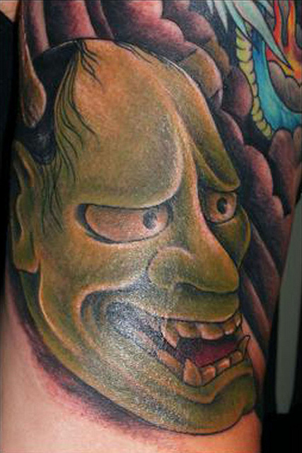 Hannya Mask Tattoo (24)