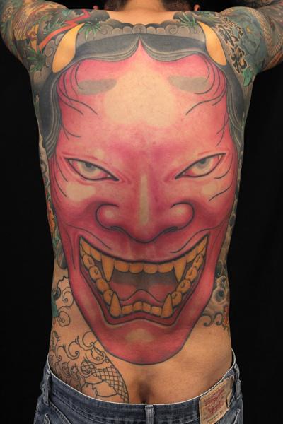 Hannya Mask Tattoo (23)