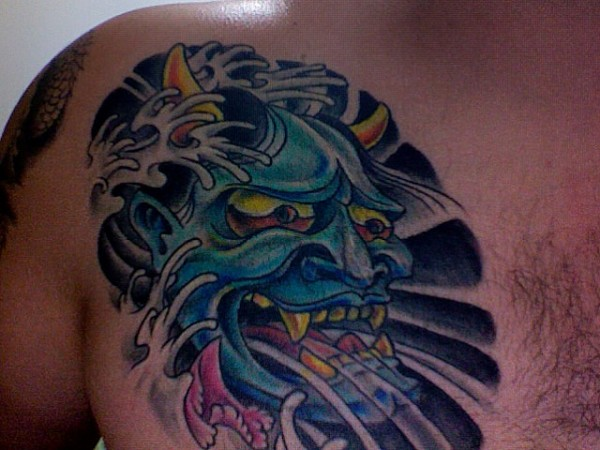 Hannya Mask Tattoo (22)
