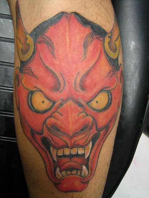 Hannya Mask Tattoo (21)