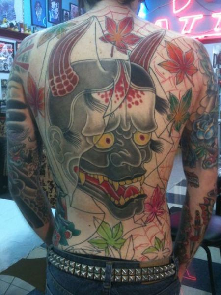 Hannya Mask Tattoo (20)