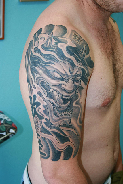 Hannya Mask Tattoo (19)
