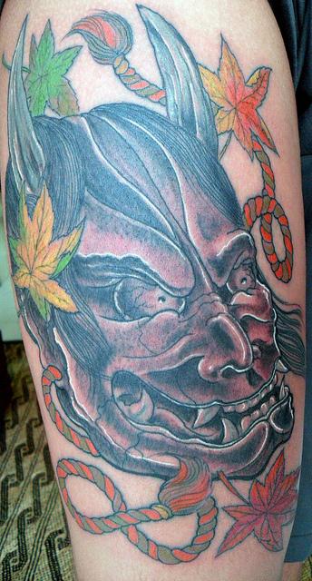 Hannya Mask Tattoo (17)