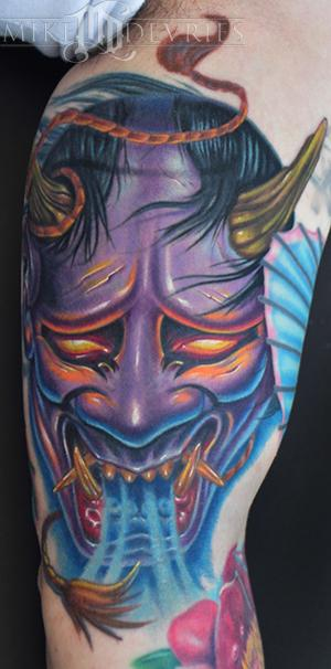 Hannya Mask Tattoo (9)