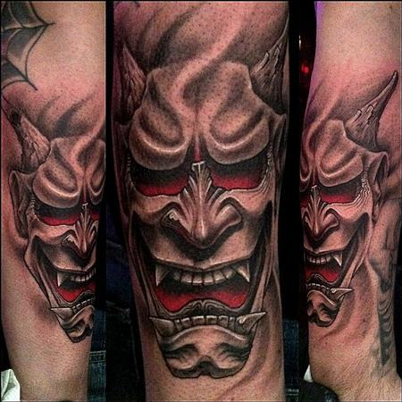 Hannya Mask Tattoo (5)
