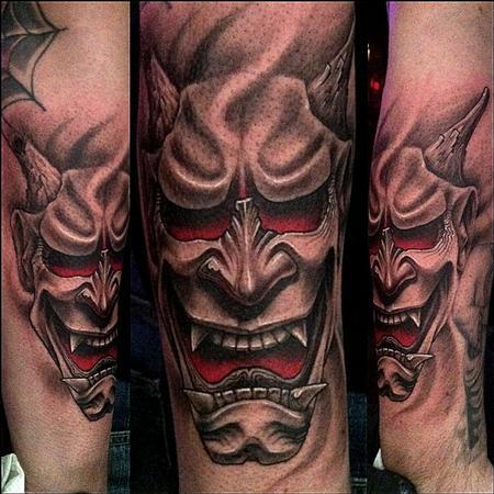Hannya Mask Tattoo (5)