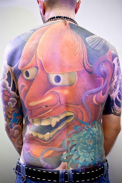 Hannya Mask Tattoo (1)