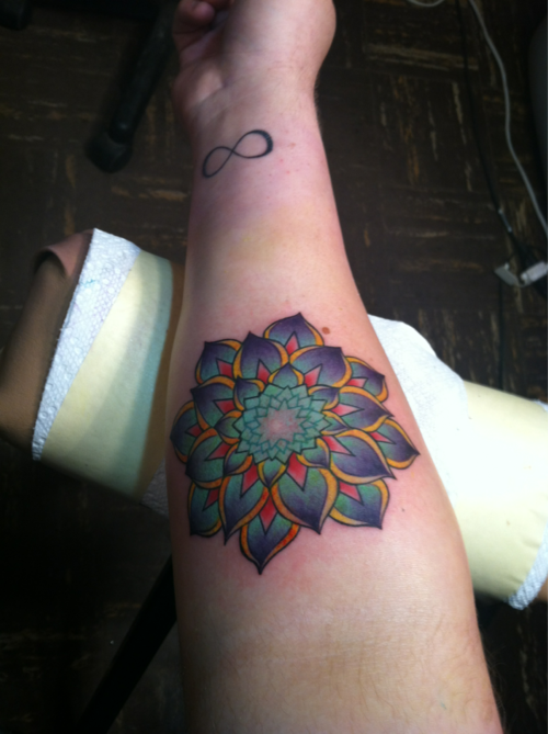 Lotus Flower Tattoo (41)