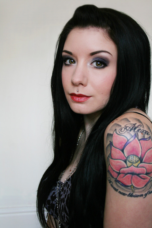 Lotus Flower Tattoo (40)
