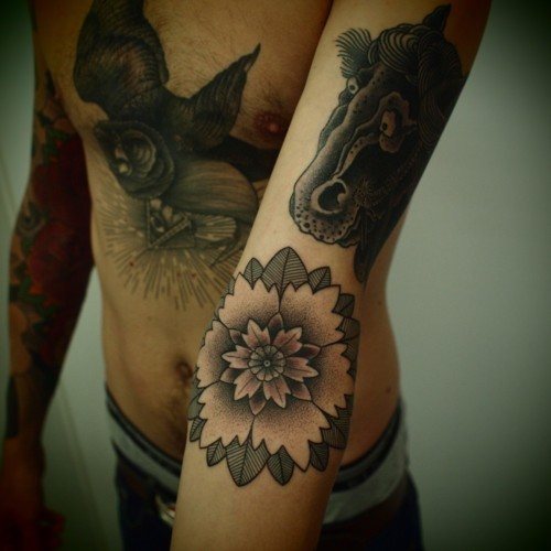 Lotus Flower Tattoo (36)