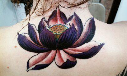 Lotus Flower Tattoo (34)