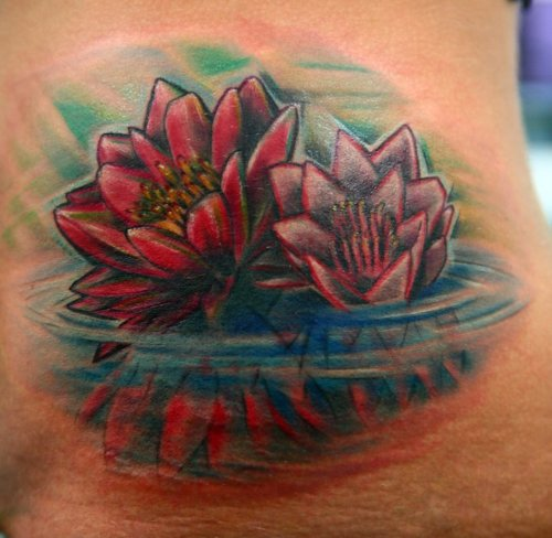 Lotus Flower Tattoo (29)