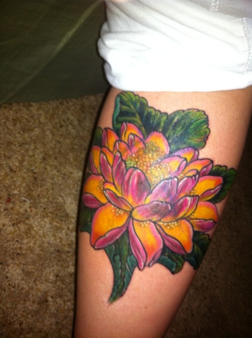 Lotus Flower Tattoo (26)