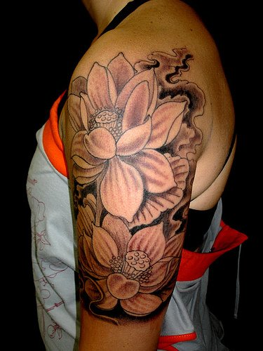 Lotus Flower Tattoo (24)