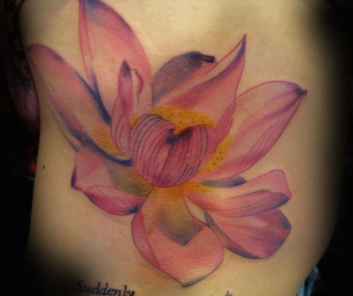 Lotus Flower Tattoo (19)