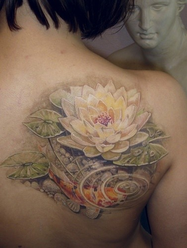 Lotus Flower Tattoo (7)