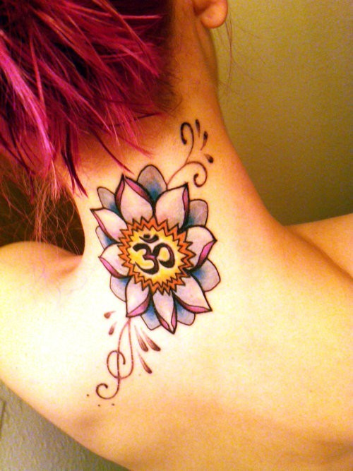 Lotus Flower Tattoo (5)