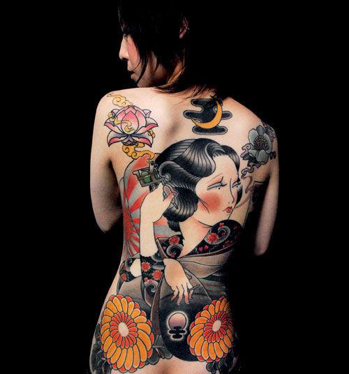 Fotos Japonesas tatuadas (12)