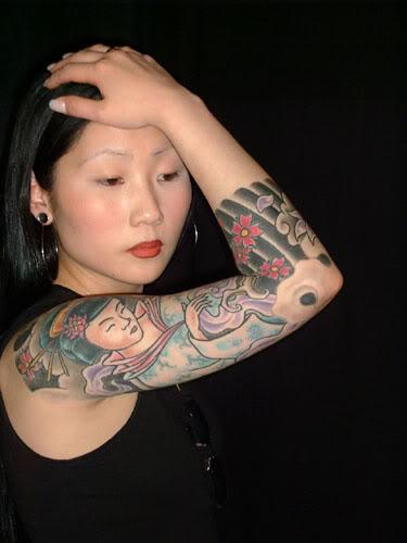 Fotos Japonesas tatuadas (10)
