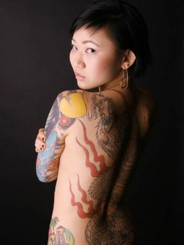 Fotos Japonesas tatuadas (9)