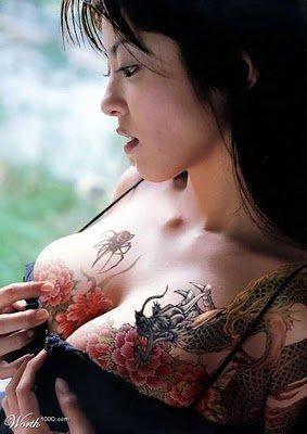 Fotos Japonesas tatuadas (8)