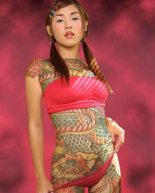 Fotos Japonesas tatuadas (7)
