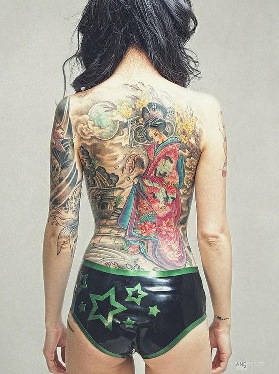 Fotos Japonesas tatuadas (6)
