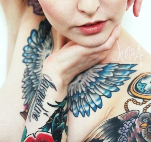 Tattooed Girls (9)