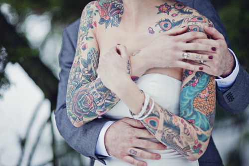 Fotos de casamentos de tatuados - Weddings tattooed (33)