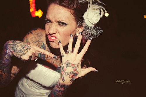 Fotos de casamentos de tatuados - Weddings tattooed (26)
