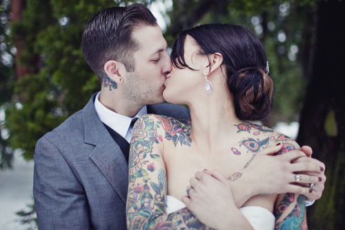 Fotos de casamentos de tatuados - Weddings tattooed (22)