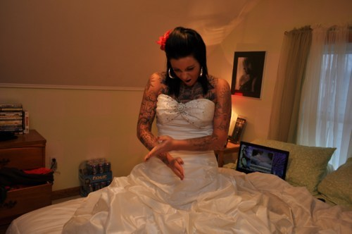 Fotos de casamentos de tatuados - Weddings tattooed (10)