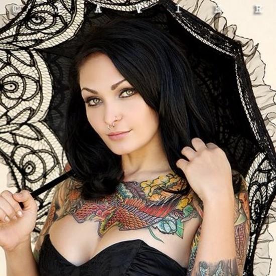 Fotos de lindas mulheres tatuadas (63)