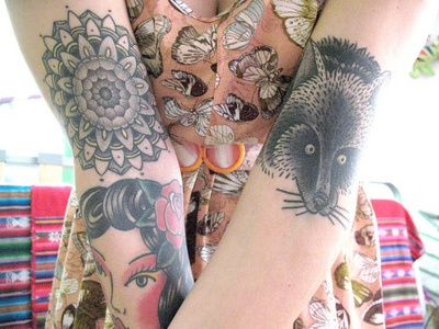 Fotos de lindas mulheres tatuadas (16)