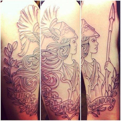 Grek Gods tattoos (35)